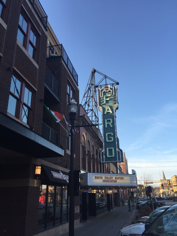 Fargo sign movie famous north dakota
