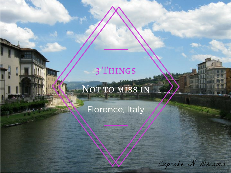 Florence Italy // Cupcake N Dreams